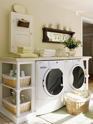Laundry Room: Mess or Mesmerizing?