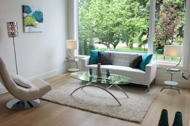 Toronto Home Staging Services - Modern Family Room - After